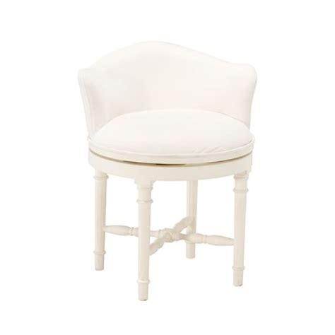 white vanity chair minnie vanity stool pbteen