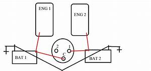 What Is The Proper Diagram To Install A Battery Switch  Blue Sea Systems 4 Position Selector