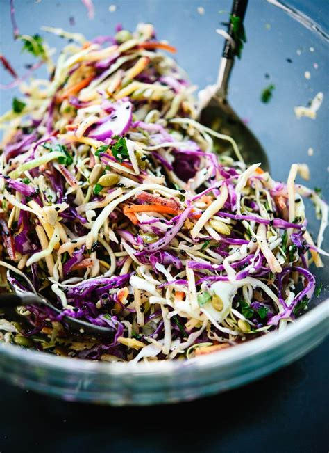 cole slaw recipe simple healthy coleslaw recipe cookie and kate