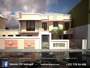 Projet R 1 Facade 3d Moderne