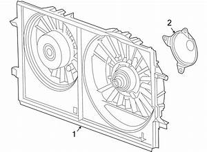 Pontiac G6 Engine Cooling Fan Assembly