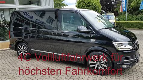vw t6 multivan highline vw t6 multivan highline mit 18 5 monitor sony ps4 vb airsuspension 4c vollluftfahrwerk