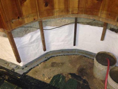 Basement Waterproofing   Basement Waterproofed and Up to