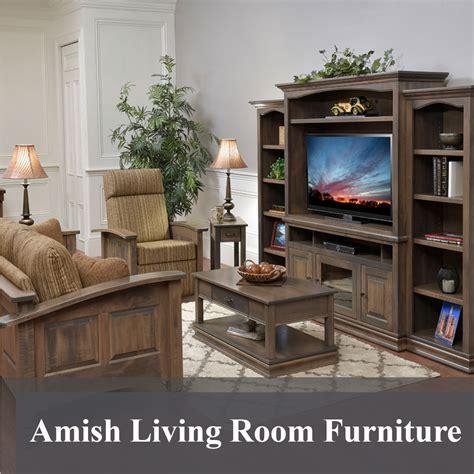 amish living room furniture american  custom