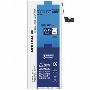 Original Nohon Battery For Apple Iphone 6 Plus 2915mah