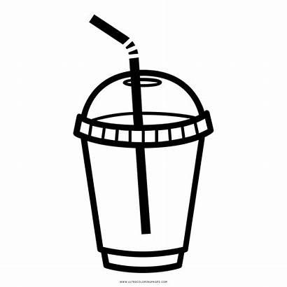 Cup Plastik Gelas Plastica Colorare Bicchiere Disegni