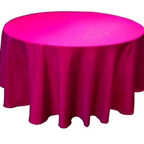 pink kitchen tablecloth 70 inch polyester tablecloth 24 color table cover