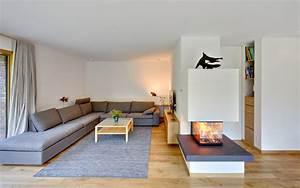 Moderne Kamine Als Raumteiler : neubau winkelhaus ~ Markanthonyermac.com Haus und Dekorationen