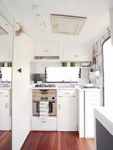 Super Cool and Practical Caravan Interior Design