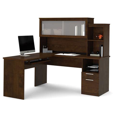 kids l shaped desk bestar dayton l shaped desk with hutch chocolate desks