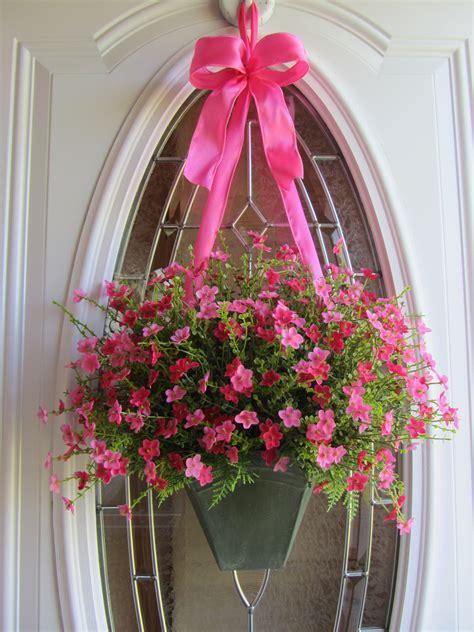 www cheriesforgetmenots com summer door wreath pinterest