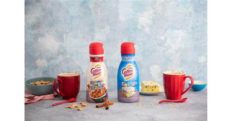 Soon, funfetti and cinnamon toast crunch creamers will be gracing your grocery store shelves. Coffee-Mate Is Launching Cinnamon Toast Crunch and Funfetti Creamers in the New Year! | POPSUGAR ...