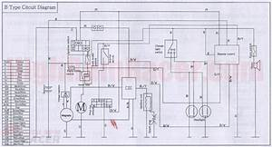 Buyang 107cc Pocket Bike Wiring Diagram