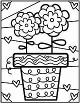 Coloring Pond Club Desenhos Colorir Romero Flower Britto Library Pintar Kleurplaten Heart Malvorlagen Books Ideias Coloriage Malen Pot Primavera Criancas sketch template