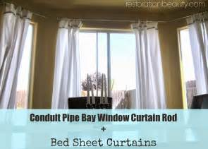 bay window bay window curtains rods
