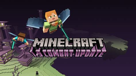 minecraft combat update patch  released notes included
