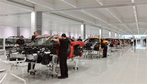 mclaren factory mclaren production centre designing buildings wiki