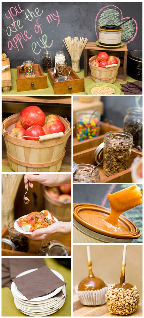 The Caramel Apple Bar Perfect For Fall Parties And Weddings