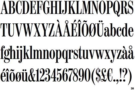 font bureau fonts identifont moderno fb compressed