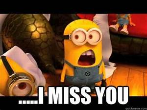 Minions I Miss You Quotes. QuotesGram