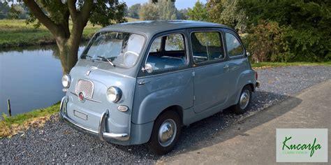 Fiat 600 Multipla For Sale by Fiat 600 Multipla 1957 Kucarfa
