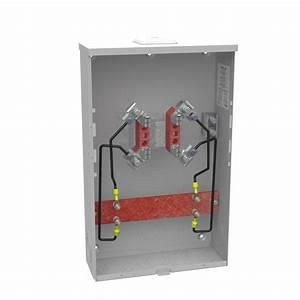 Milbank Underground Meter Socket