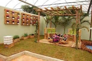 Palette Jardin by Deco Exterieur En Palette
