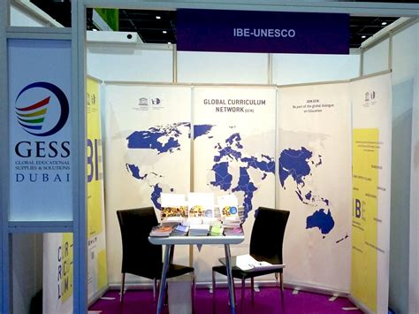 unesco international bureau of education ibe unesco participates in gess dubai 2016 international