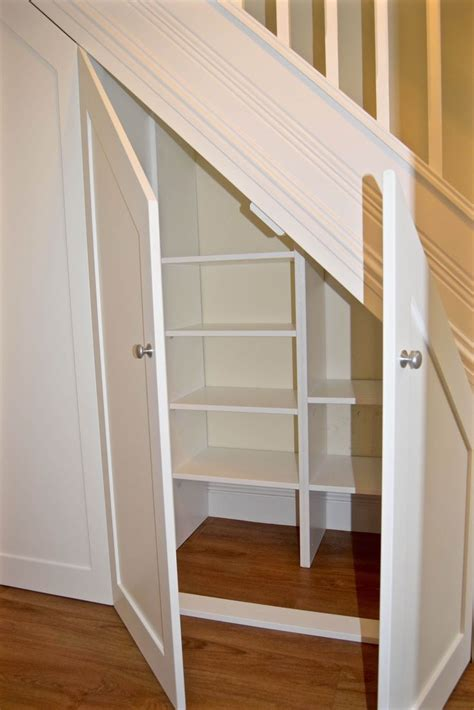 incredible shoe rack ideas shelves  stairs staircase storage closet  stairs
