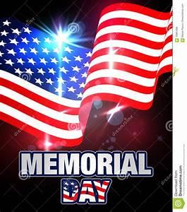 Memorial Day Banner. Stock Vector - Image: 70961308