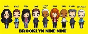 BROOKLYN NINE NINE Chibi Version By Xx BRY Xx On DeviantArt