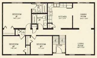and bathroom house plans ranch homes floor plans