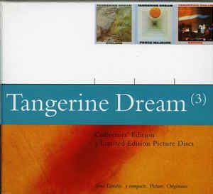 tangerine dream tangerine dream  cd album reissue