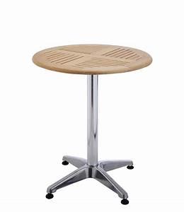 Gartenmöbel Tisch Rund : bistro tisch rund aus alu holz gartentisch bei baldur garten ~ Indierocktalk.com Haus und Dekorationen
