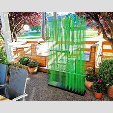 Ein Paravent  Sichtschutz Raumteiler Für Die Terrasse