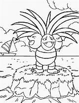 Coloring Poison Pokemon Popular sketch template