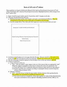 best photos of cover letter apa 6th edition apa format With apa version 6 template