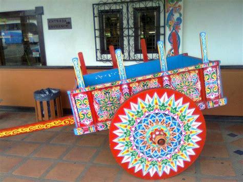Carreta tipica de Costa Rica Carretilla Carreta tipica