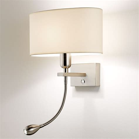chelsom wall light with reading light for by beds interior design led reading light bedroom