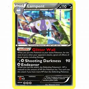 Pokemon TCG Dark Claws Lampent