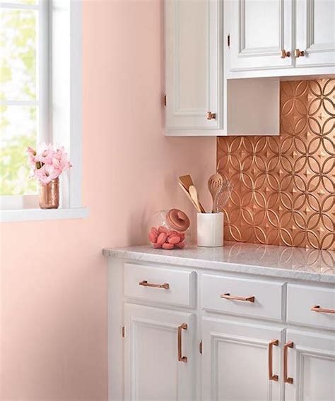 Fliesenlack Pink by 14 Eye Catching Blush Pink Copper Home Decor Ideas