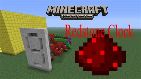 minecraft xbox 360 redstone clock new update in discription