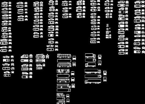 cars pick ups trucks dwg block  autocad designs cad