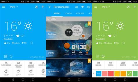 meteo bureau top applications météo android