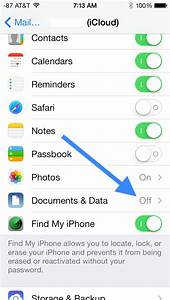 what is quotdocuments dataquot and how do i delete it With delete documents and data on iphone 7