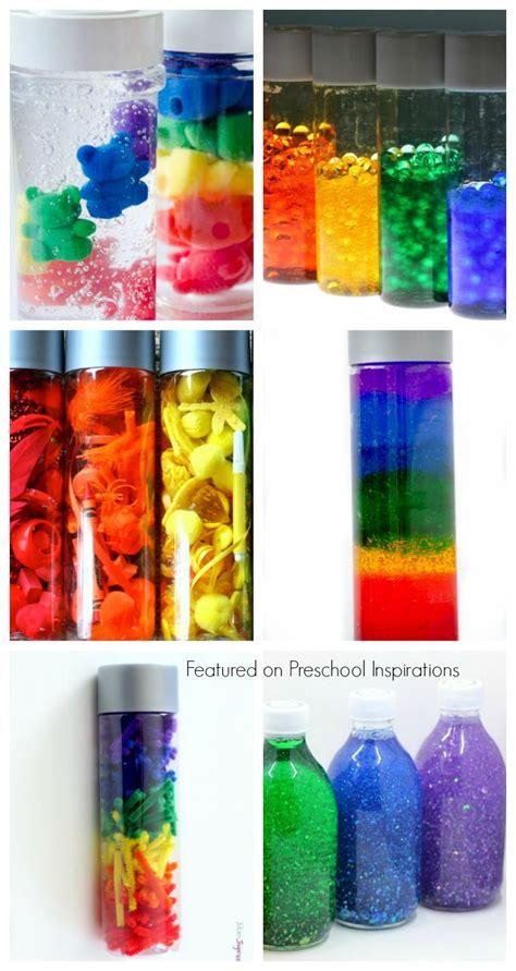 amazing rainbow sensory and discovery bottles 261 | a6e01b2d74627b0e4aae277d6d049aac