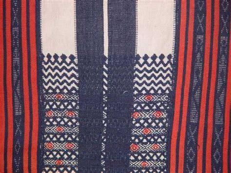 detail   bontoc woven textile   highlands