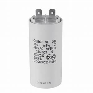 Cbb60 10uf 450v Ac Motor Run Start Capacitor 50  60hz For