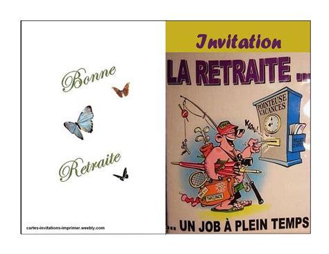 Carte Invitation Retraite Imprimer Gratuite