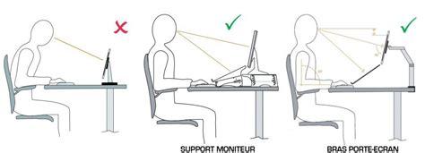 support moniteur bureau qualidesk les accessoires ergonomiques améliorent les